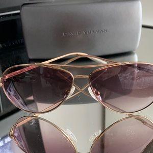 David Yurman rose gold sunglasses
